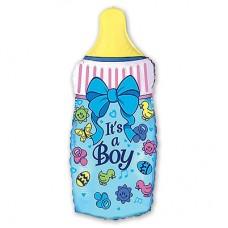 Бутылочка для младенца (мальчика)