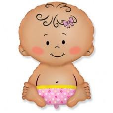 Гелиевый шар Девочка младенец
