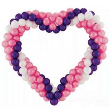 Сердце из шаров (3 цвета)